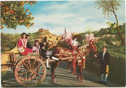 V3200 Sicilia - Carretto Siciliano - Folklore / Viaggiata 1978 - Costumes