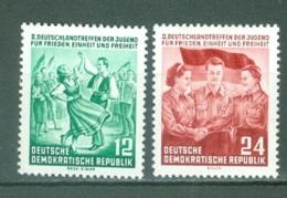 DDR  Yvert  166/167   * *  TB - [6] République Démocratique