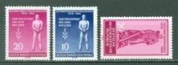 DDR  Yvert  195/196 Et 197   * *  TB - [6] République Démocratique
