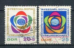 DDR Nr.1377/8         O  Used       (21394) ( Jahr: 1968 ) - Gebraucht
