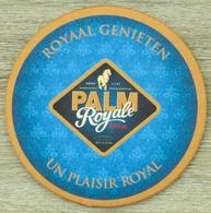 Sous-bock PALM ROYALE Un Plaisir Royal Royaal Genieten Bierdeckel Beermat Bierviltje (CX) - Sous-bocks