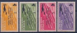 ITALIE - PA 52/55  COMPLETE NEUF* MAIS TACHES DE ROUILLE COTE 40 EUR - 1900-44 Victor Emmanuel III