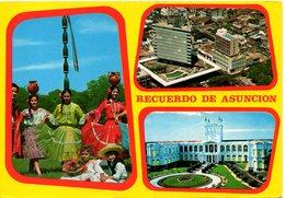 PARAGUAY. Carte Postale écrite. Asuncion. - Paraguay