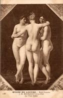 MUSEE DU LOUVRE  ECOLE FRANCAISE J B REGNAULT  LES TROIS GRACES - Musées