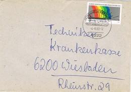 30717. Carta GEISENHEIM  A RHEIN (Alemania Federal) 1980 - [7] República Federal
