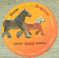 Sous-bock PALM Chevaux Paarden Horse Parade Belgium Bierdeckel Beermat Bierviltje (V) - Sous-bocks