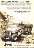 "PUB    JEEP   "" WILLIS-OVERLAND  ""  1948 - Transports"