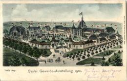 Basel - Gewerbe Ausstellung 1901 - BS Basel-Stadt
