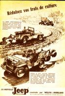 "PUB    JEEP   "" WILLIS-OVERLAND  ""  1948 ( 2 ) - Transports"