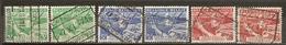 Belgique Belgium 1945 Colis Postal Mercury 2 Sets Complete Obl - Spoorwegen
