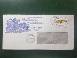 (9935) ITALIA STORIA POSTALE 1985 - 1946-.. République