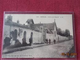 CPA - Senlis - Entrée De L'Hôpital - Senlis