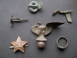 Archaeological Finds #8 Metal Detector Finds - Archaeology