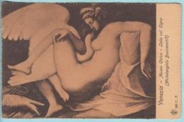 Venezia - Museo Civico - Leda Col Cigno - Michelangelo Buonarotti  C.P. N. 320 - Musei