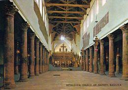 1 AK Palästina * Bethlehem Innenansicht Der Geburtskirche - Seit 2012 Ist Die Geburtskirche UNESCO Weltkulturerbe * - Palestine