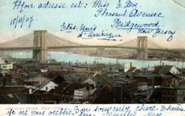 Amerique - Etats-Unis - Nex York - East River Bridge - C 2033 - Other