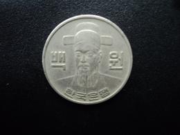CORÉE DU SUD : 100 WON   1978   KM 9     TTB - Corée Du Sud