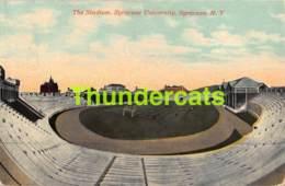 CPA THE STADIUM SYRACUSE UNIVERSITY SYRACUSE N Y NEW YORK STADE - Syracuse