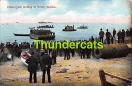 CPA PASSENGERS LANDING AT NOME ALASKA - United States