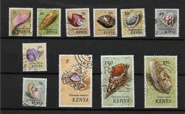 Kenya 1971 Seashells, Selection To 10s Used (7316) - Kenya (1963-...)