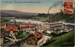 Broc - Fabrique De Chocolat Cailler Et La Gare - FR Fribourg