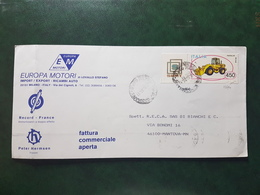 (9957) ITALIA STORIA POSTALE 1986 - 1946-.. République