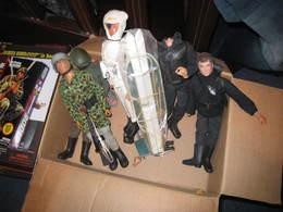 Lot De Figurines Action  MAN& Gi JOE - Militares