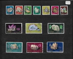 Kenya 1977 Minerals, Complete Set To 10s Used (7319) - Kenya (1963-...)