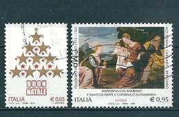 2015 NATALE RELIGIOSO E LAICO SERIE COMPLETA USATO - 6. 1946-.. Repubblica