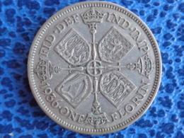 SUPERBE ONE FLORIN ARGENT 1936 - GEO V - 1902-1971 : Post-Victorian Coins
