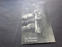 AUF VORPOSTEN IN FEINDESLAND - 22.1.1916 - Weltkrieg 1914-18