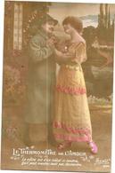 LOT De 5 CPA MILITARIA - LE THERMOMETRE DE L'AMOUR - Le Soldat Et La Fiancée - DELC6/ENCH - - Cartes Postales