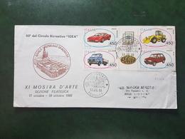 (9968) ITALIA STORIA POSTALE 1986 - 1946-.. République