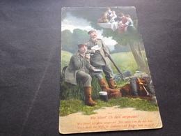 WIE KOENNT ICH DEIN VERGESSEN - FELDPOST - 30.3.15 Von KITZINGEN - Weltkrieg 1914-18