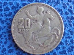 20 DRACHMAI ARGENT 1960 - Greece