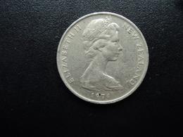 NOUVELLE ZÉLANDE : 20 CENTS   1974    KM 36.1    TTB - Nouvelle-Zélande