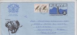 Kenya Airmail Cover To Pakistan, Stamps,birds  (A-692) - Kenya (1963-...)