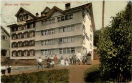 Gruss Aus Herisau - Restaurant Zum Zebra - AR Appenzell Outer-Rhodes