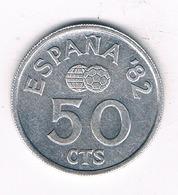 50 CENTIMOS 1982 SPANJE /8371/ - [ 5] 1949-… : Royaume