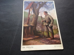 EIN VATERUNSER - FELDPOST - 17. JUNI 1915 - OEST. MARKT. GRIFFEN - KAERNTEN - Guerra 1914-18