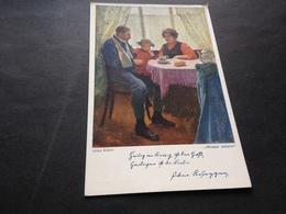 JULIUS KLABER - WIEDER DAHEIM - K.K.GESELLSCHAFT VOM OESTERR. SILBERNEN KREUZE - Weltkrieg 1914-18
