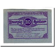 Billet, Autriche, Klaus, 20 Heller, Batiment, 1920, 1920-03-27, SPL, Mehl:454IIf - Austria