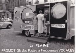 13 / MARSEILLE / LA PLAINE PROMOTION POSTES A FREQUENCES VOCALES / PAS CP / PHOTO FORMAT 18X24 - Cinq Avenues, Chave, Blancarde, Chutes Lavies