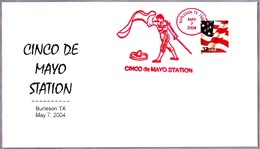 Cinco De Mayo. TOROS - BULLFITHING. Burleson TX 2002 - Fiestas
