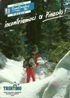 """Pinzolo (Trento) """"Cross Country Ski"""" Comitato Organizzatore Settimana Bianca, Cartolina Pubblicitaria - Wintersport"""