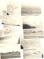 73 Photos  MEETING Aérien à BRUSTEM (sous Réserve ), Force Belge, Patrouilles Acrobatiques,hélicoptère,avion,...(b241). - Luchtvaart