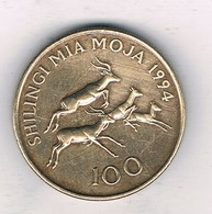 100 SHILINGI 1994 TANZANIA /8377// - Tanzanie
