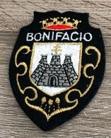ECUSSON MERESSE BONIFACIO  AMOIRIES CORSE DU SUD - Blazoenen (textiel)