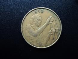 ÉTATS DE L'AFRIQUE DE L'OUEST : 25 FRANCS   1990   KM 9      TTB - Monnaies