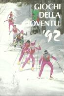 Laces, Martello - Latsch, Martell (A. Adige) Giochi Gioventù '92, Manifestaz. Nazion. Invern., Nationale Winterspiele - Wintersport